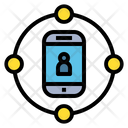 Network Connect Online Icon