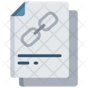 Linked Document Hyperlink Note Icon