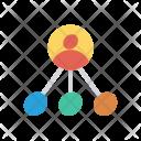 Linked employee Icon