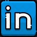 Linkedin Linkedin Logo Brand Logo Icon