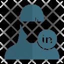 Linkedin User Avatar Icon
