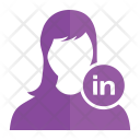 Linked In User Avatar Icon