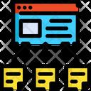 Links Seo Web Icon