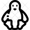 Linux Tux Language Icon