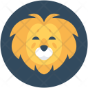 Lion Wild Animal Icon