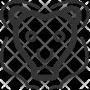 Lion Nature Beast Icon