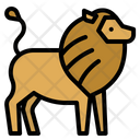 Lion Zoo Animals Icon