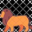 Lion Zoo Animal Icon