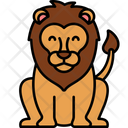 Lion Carnivore Animal Icon