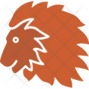 Lion Wild Animal Zoo Icon