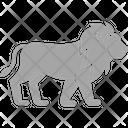 Lion Animal Big Cat Icon