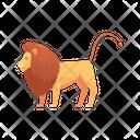 Lion Wild Animal Carnivore Icon