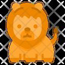 Lion Wild Wildlife Icon