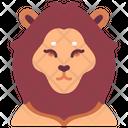 Lion Animal Wildlife Icon