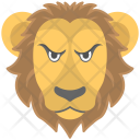 Leo Lion Animal Icon