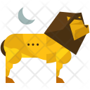 Nature Forest Lion Icon