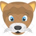 Animated Baby Lion Icon