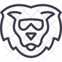 Lion Animal Hipster Icon