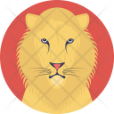 Lion Social Cats Icon