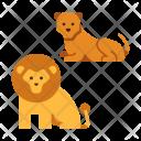 Lion Wild King Icon