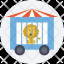 Wagon Cage Animal Icon