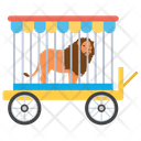 Lion Circus Circus Animal Lion Cage Icon