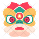 Lion Dance Dragon Icon