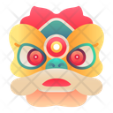 Chinese Lion Dance Icon