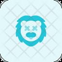 Lion Death Icon