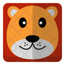 Lion Animal Wildlife Icon