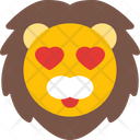 Lion Heart Eyes Icon