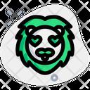 Lion Heart Eyes Icon