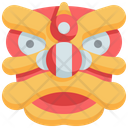 Lion Dancing Chinese New Year Icon
