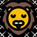 Lion Pensive Icon