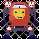 Lion Robot Toy Robot Mechanical Robot Icon