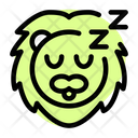 Lion Sleeping Icon
