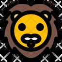 Lion Smiling Icon