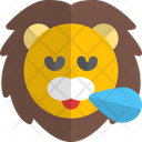 Lion Snoring Animal Wildlife Icon