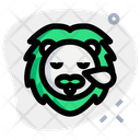 Lion Snoring Icon