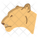 Lioness Animal Zoo Icon