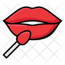 Lip Makeup Makeover Lip Color Icon
