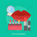 Lips Colouring Mouth Icon
