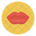Lips Kiss Love Icon