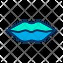 Kiss Make Up Halloween Icon