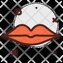 Lips Face Body Icon