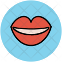 Lips Smiling Beauty Icon