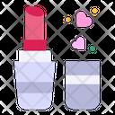 Lipstick Beauty Heart Icon