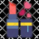 Lipstick Makeup Heart Icon