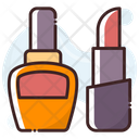 Lipstick And Nail Polish Icon