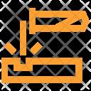 Acid Corrosion Dangerous Icon